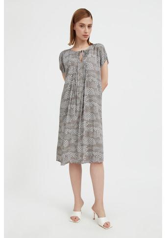 Finn Flare Jerseykleid, mit zartem Alloverdruck kaufen