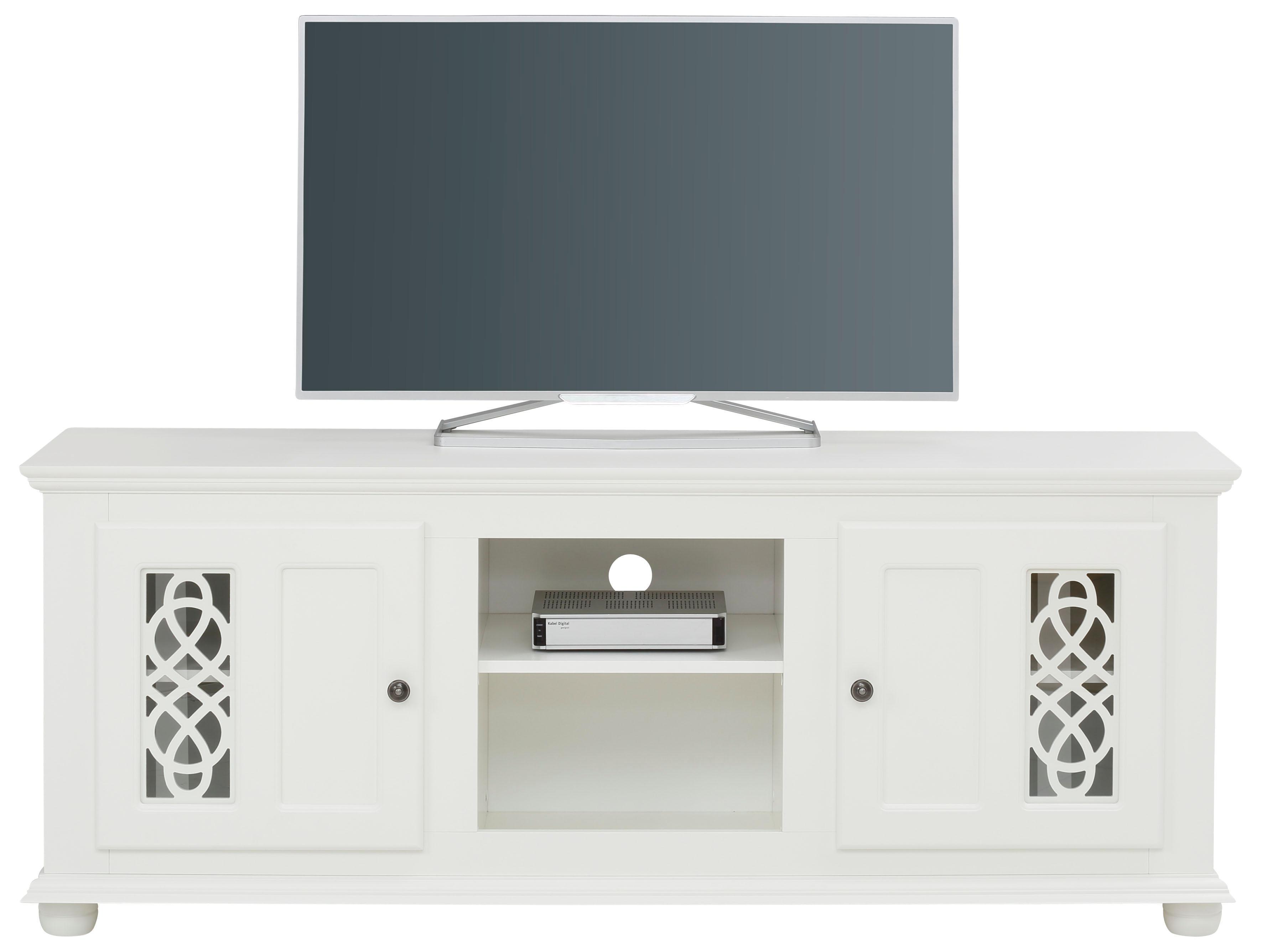 Home affaire TV-Lowboard Polaris mit kunstvollen Fräsungen Breite 160 cm