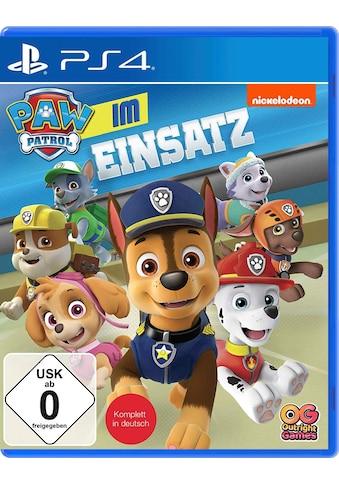 Spiel »Paw Patrol: Im Einsatz«, PlayStation 4, Software Pyramide kaufen