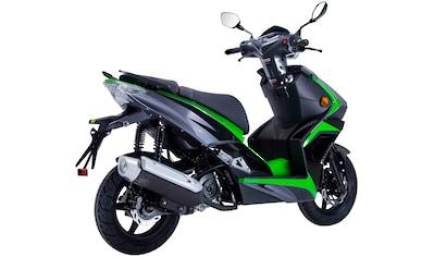 GT UNION Motorroller »Striker«, 50 cm³, 45 km/h, Euro 5, 3 PS kaufen