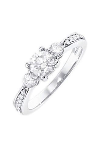 Firetti Verlobungsring »Vorsteckring, Weißgold«, mit Diamanten 0,25 ct. kaufen