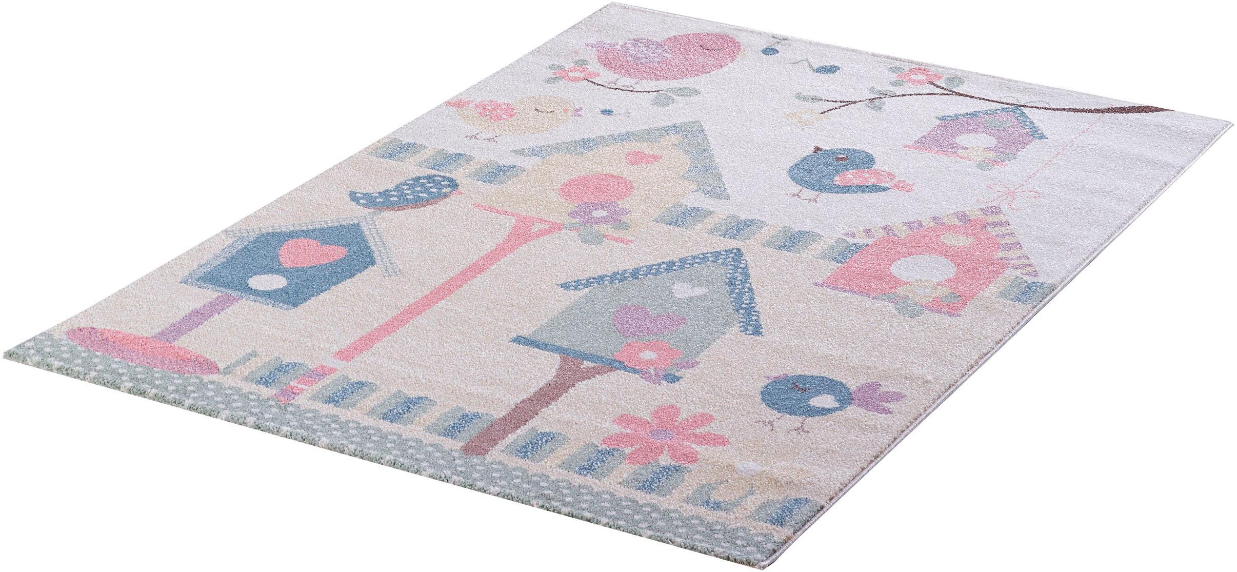 Kinderteppich Luna Kids 4601 Sanat Teppiche rechteckig Höhe 12 mm maschinell gewebt
