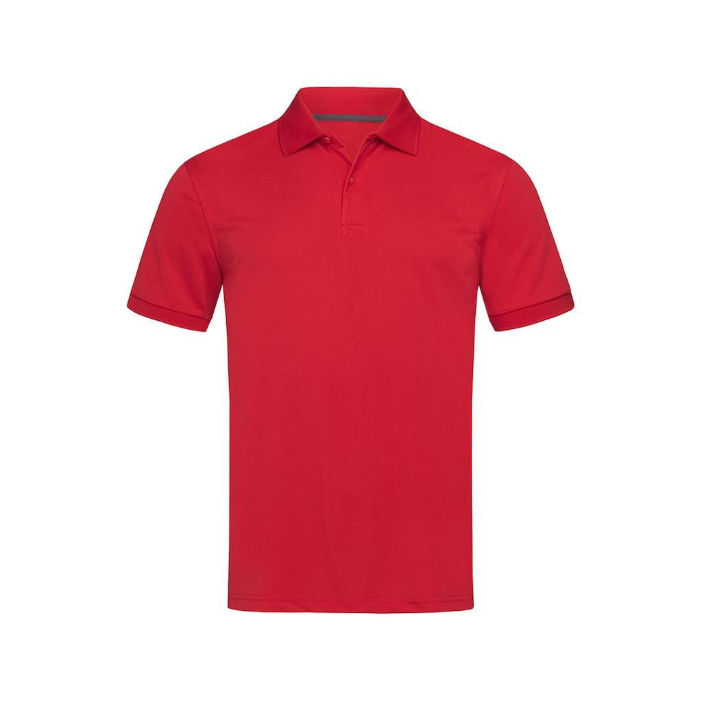 Stedman Poloshirt mit atmungsaktiver Funktion