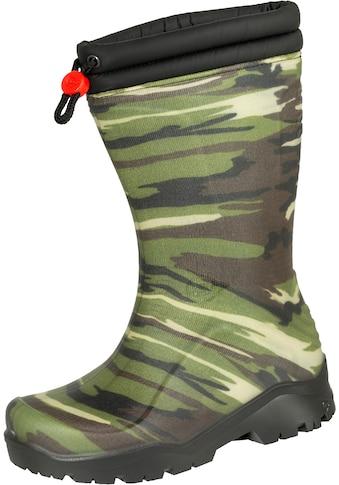 DUNLOP Gummistiefel »Kids Blizzard camouflage«, ideal für kalte Wintertage kaufen