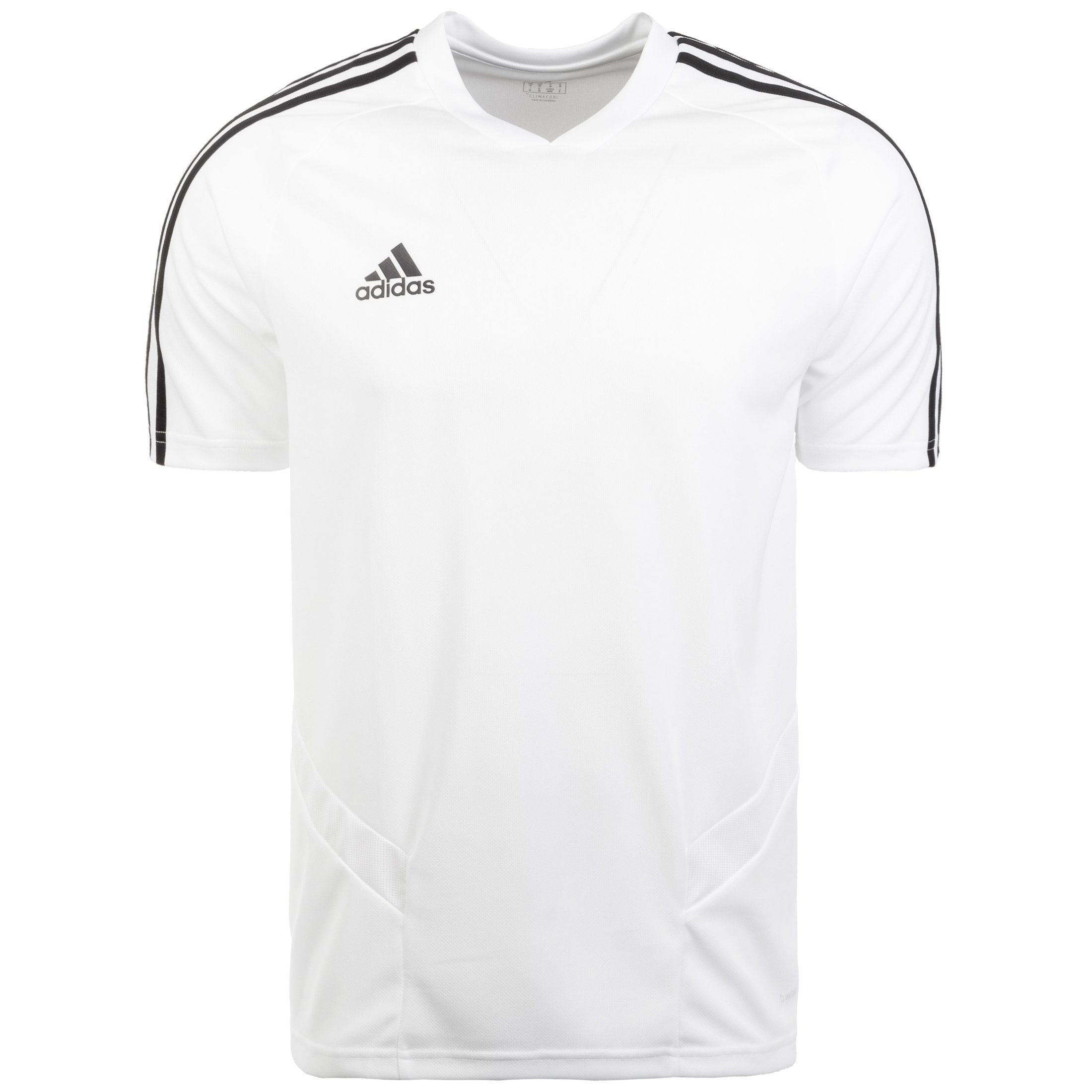 adidas Performance Trainingsshirt Tiro 19 | Sportbekleidung > Sportshirts > Funktionsshirts | Weiß | Adidas Performance