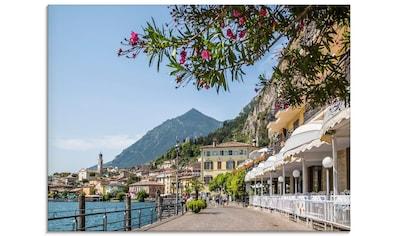 Artland Glasbild »Gardasee Limone sul Garda«, Europa, (1 St.) kaufen