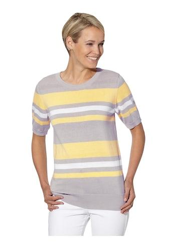 Casual Looks Kurzarmpullover »Rundhals-Pullover« kaufen