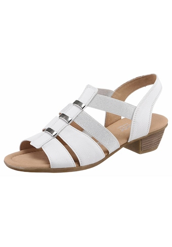 Gabor Sandalette, mit ansprechenden Metallapplikationen kaufen