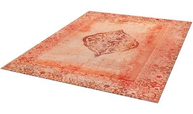 Teppich, »Vintage Bloom«, wash+dry by Kleen - Tex, rechteckig, Höhe 9 mm, gedruckt kaufen