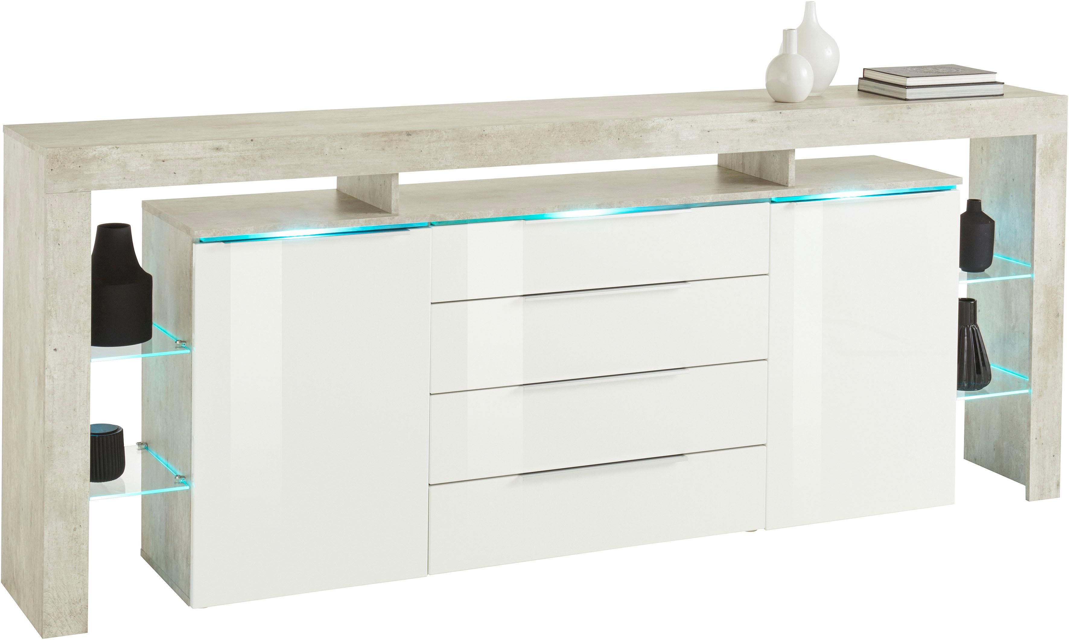 Schon Places Of Style Sideboard »Lima«, Breite 220 Cm