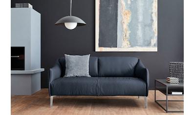 W.SCHILLIG 2,5-Sitzer »sally«, mit Metall-Winkelfüßen in Chrom glänzend, Breite 174 cm kaufen