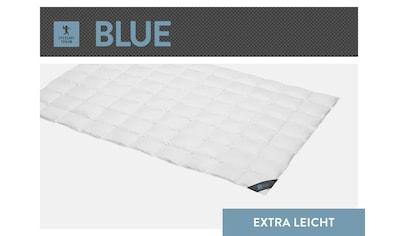 SPESSARTTRAUM Daunenbettdecke »Blue«, extraleicht, Füllung 60% Daunen, 40% Federn, Bezug 100% Baumwolle, (1 St.), hergestellt in Deutschland, allergikerfreundlich kaufen