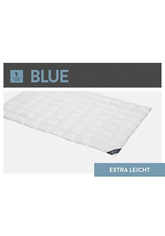 SPESSARTTRAUM Daunenbettdecke »Blue«, extraleicht, Füllung 60% Daunen, 40% Federn,... kaufen