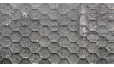 ARCHITECTS PAPER Fototapete »Atelier 47 Honeycomb 2«, in 3D - Betonoptik kaufen