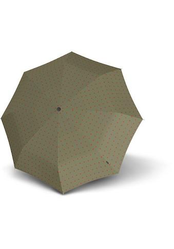 Knirps® Taschenregenschirm »T.200 Medium Duomatic, Kelly Sand« kaufen