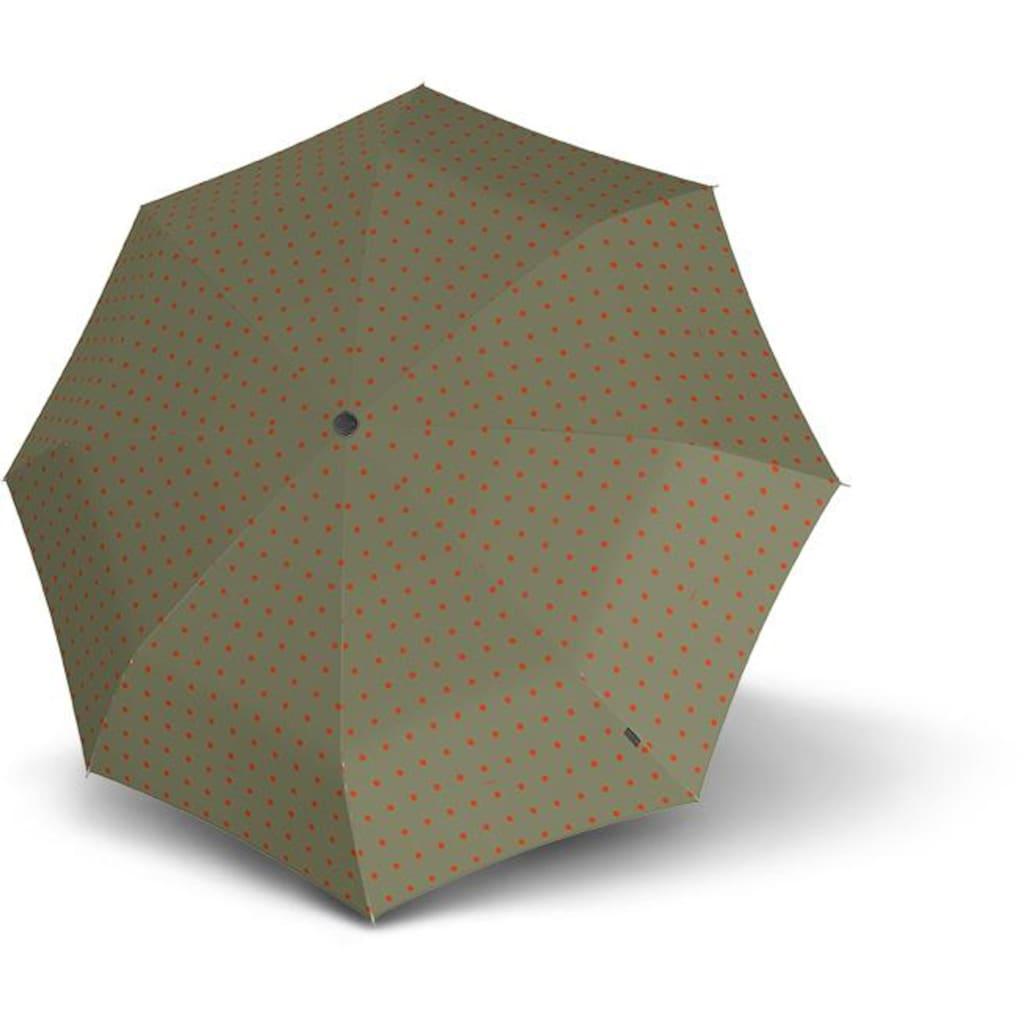 Knirps® Taschenregenschirm »T.200 Medium Duomatic, Kelly Sand«