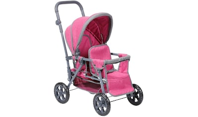 """Knorrtoys® Puppen - Zwillingsbuggy """"Big Twin  -  berry"""" kaufen"""