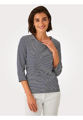 Mona 3/4-Arm-Shirt, aus reiner Baumwolle kaufen