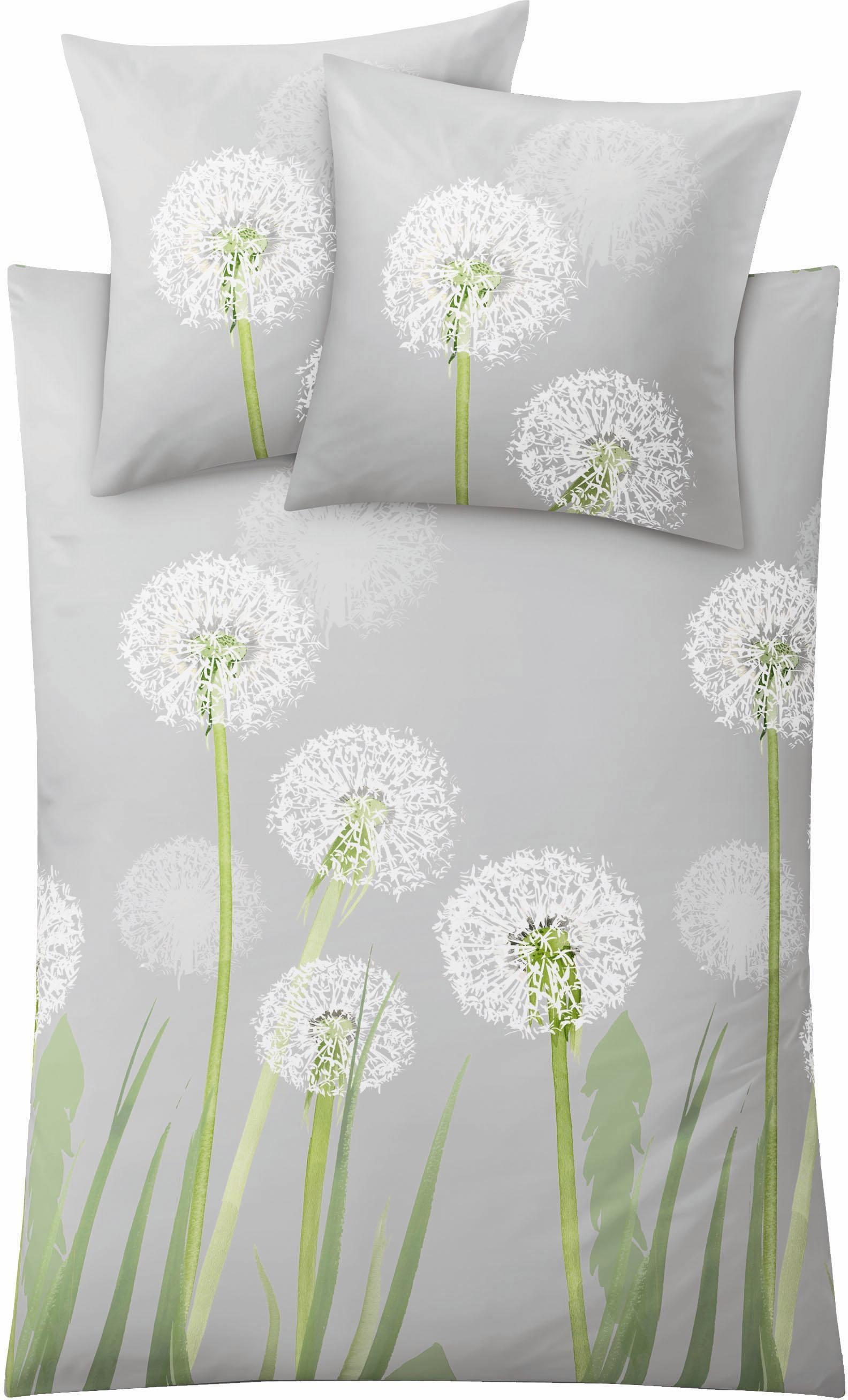 Bettwäsche, Kleine Wolke, »Belfiore«, mit Pusteblumen kaufen | BAUR
