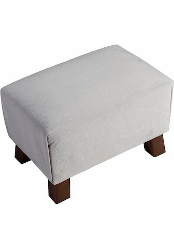 Max Winzer® Fußhocker »Footstool«, Minihocker Breite 40 cm, mit Reptiliendruck kaufen