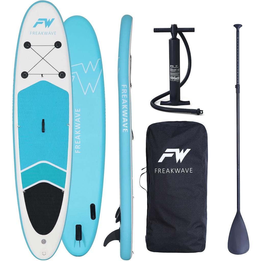 FREAKWAVE Inflatable SUP-Board »AZURE«, (4 tlg., mit Paddel, Pumpe und Transportrucksack)