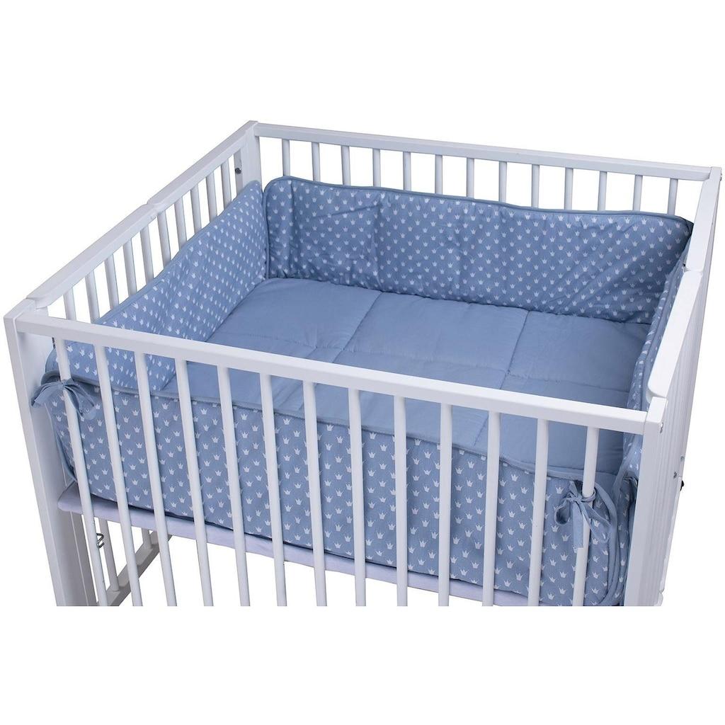 tiSsi® Laufgittereinlage »Moritz, Kronen blau«, Made in Europe