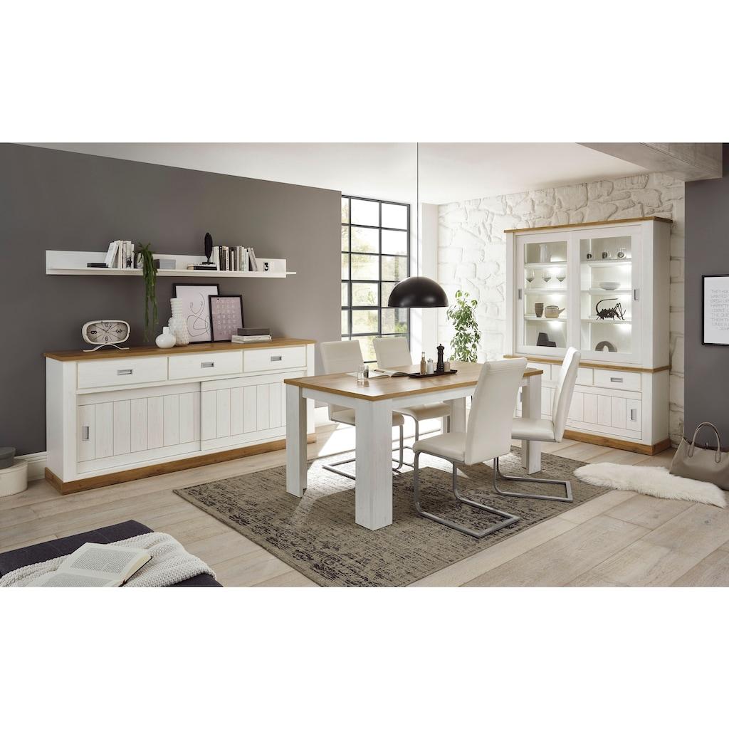 Home affaire Sideboard »ORLANDO«, im romantischen Landhaus-Look