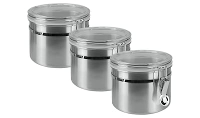 Metaltex Vorratsdose, (3 tlg.), Inox-Verschluss kaufen