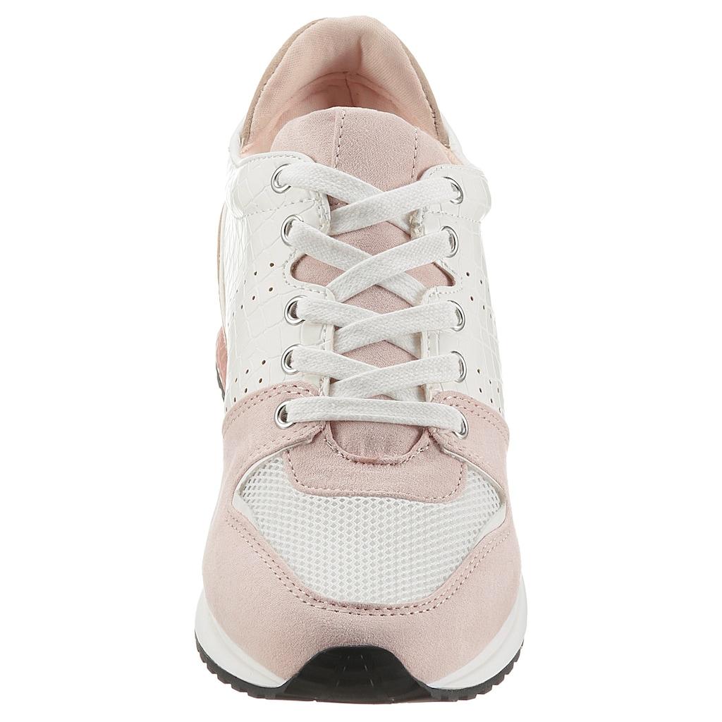 La Strada Sneaker »Fashion Sneaker«, mit Kontrastbesätzen