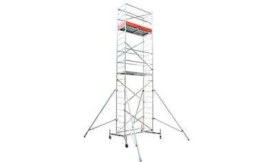 KRAUSE Fahrgerüst »ClimTec Komplettgerüst«, Max. Arbeitshöhe 7 m, inkl. Fahrrollensatz 125 mm kaufen