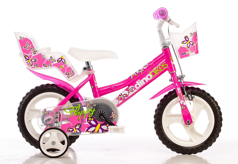 Dino Kinderfahrrad City, 1 Gang rosa Kinder Kinderfahrräder Fahrräder Zubehör