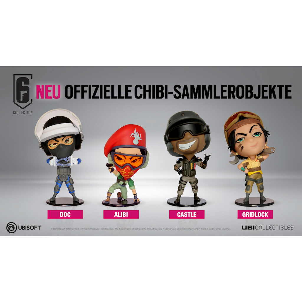 UBISOFT Spielfigur »Six Collection - Doc Figur«