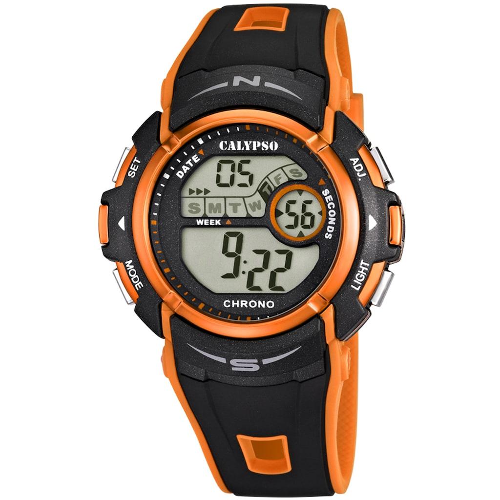 CALYPSO WATCHES Chronograph »Digital For Man, K5610/7«