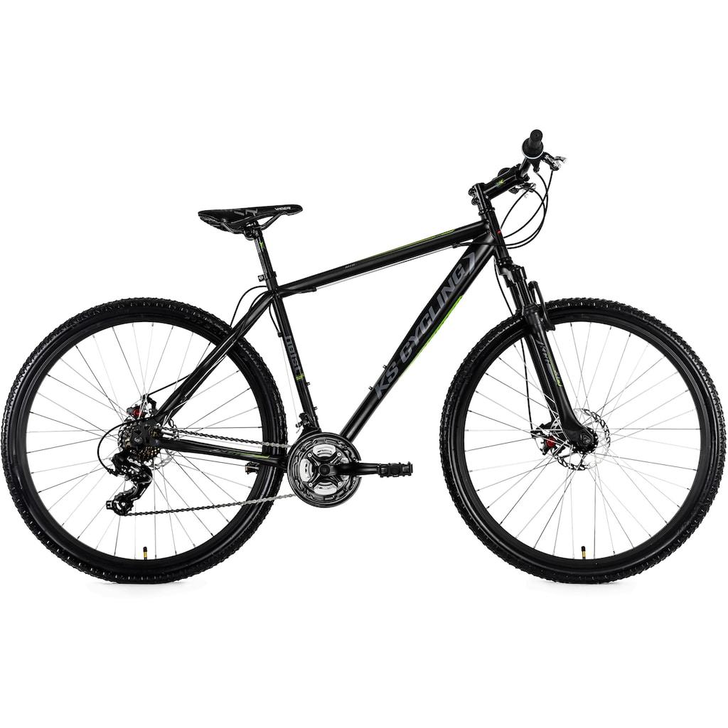 KS Cycling Mountainbike »Heist«, 21 Gang, Shimano, Altus Schaltwerk, Kettenschaltung