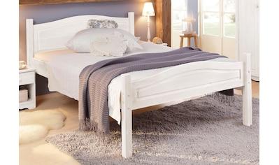 Home affaire Massivholzbett »Bolton«, aus schönem massivem Kiefernholz, in unterschiedlichen Größen und Farben kaufen