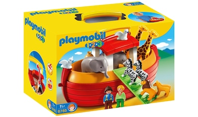 Playmobil® Konstruktions-Spielset »Meine Mitnehm-Arche Noah (6765), Playmobil 1-2-3«, Made in Europe kaufen