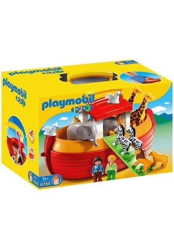 Playmobil® Konstruktions-Spielset »Meine Mitnehm-Arche Noah (6765), Playmobil 1-2-3«,... kaufen