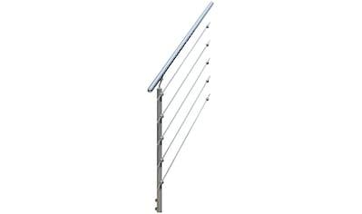 DOLLE Geländersystem »Gardentop«, Erweiterungsset 5, 1 Pfosten und Handlauf kaufen