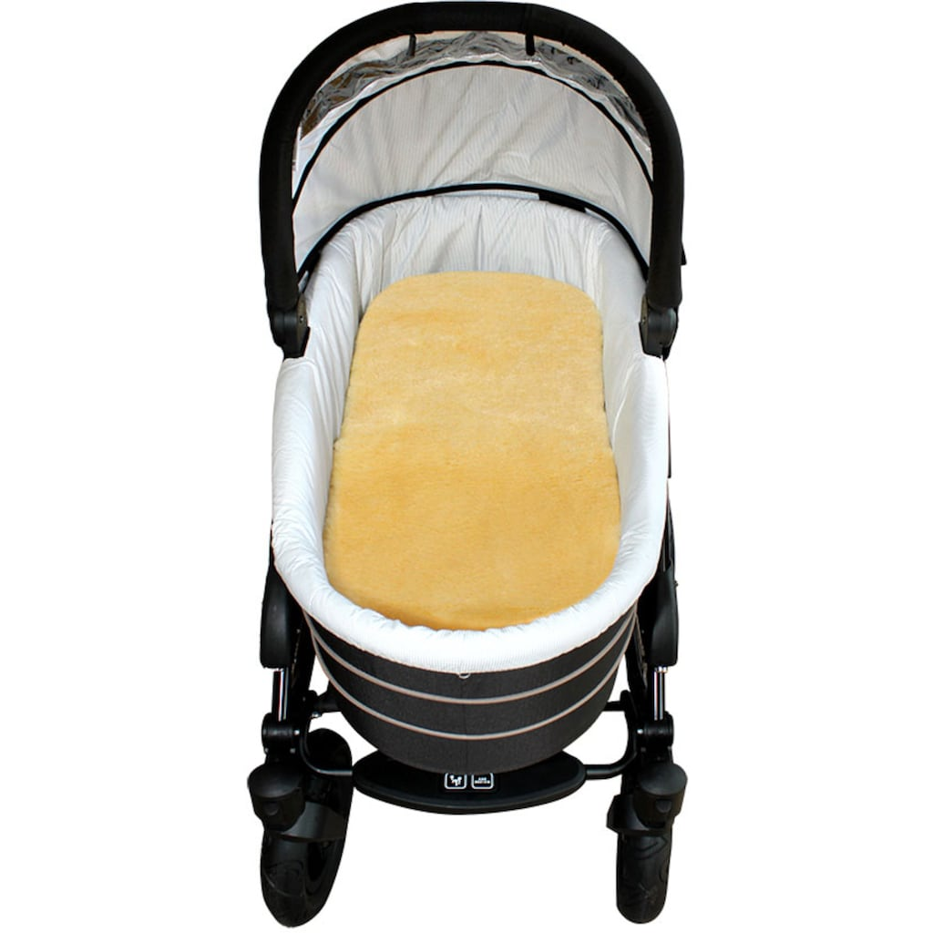Heitmann Felle Babylammfell »Lammfell-Einlage«, ideal geeignet als Einlage für Soft-Tragtasche, Kinderwagen, Buggy, Kinderbett etc., besonders weich, waschbar