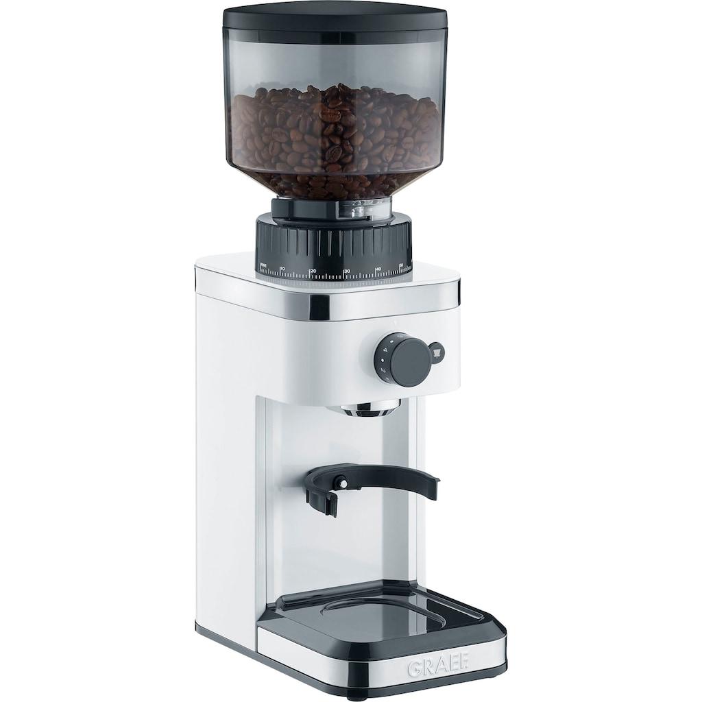 Graef Kaffeemühle »CM 501«, 140 individuelle Mahlgradeinstellungen