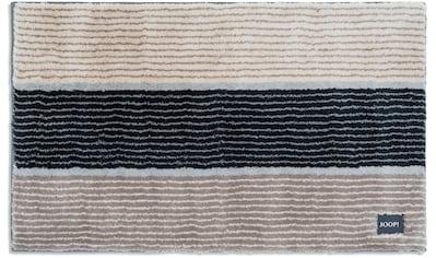 Joop! Badematte »Lines«, Höhe 20 mm, rutschhemmend beschichtet, fußbodenheizungsgeeignet kaufen