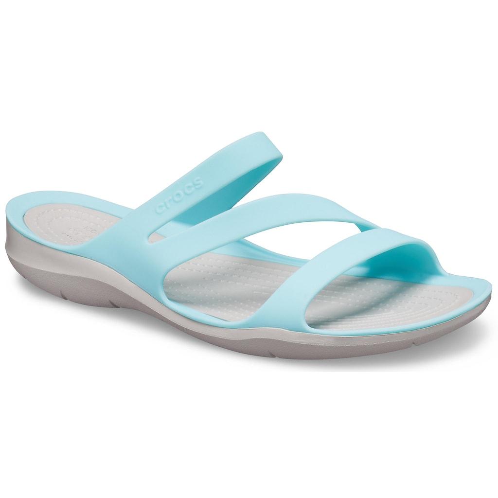 Crocs Pantolette »Swiftwater Sandal«, zum Baden oder für den Strand