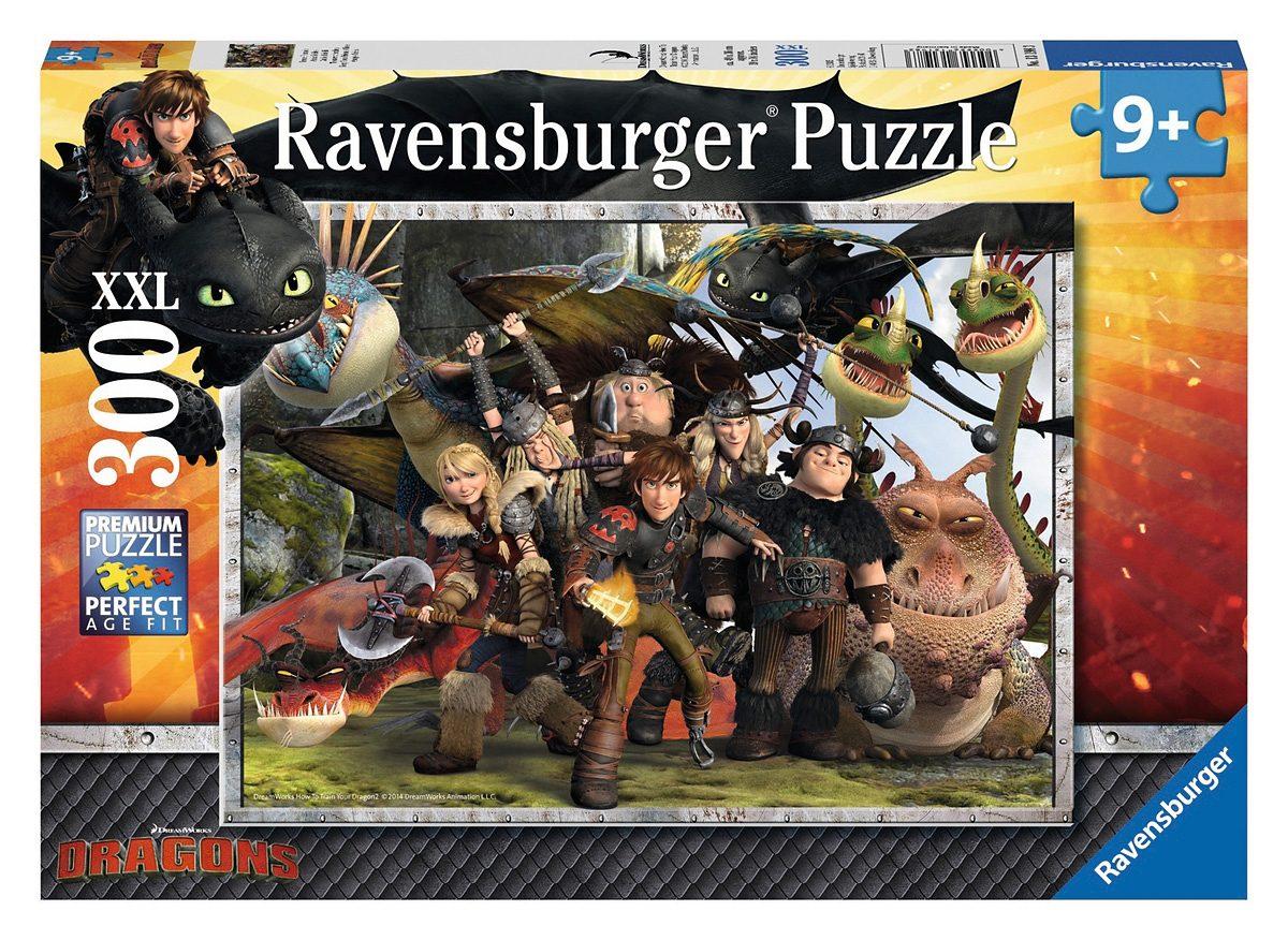 Ravensburger Puzzle, 300 Teile,  Dragons - Treue Freunde  Preisvergleich