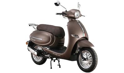 Alpha Motors Motorroller »Cappucino«, 125 cm³, 85 km/h, Euro 5, 8,56 PS, mattbraun kaufen