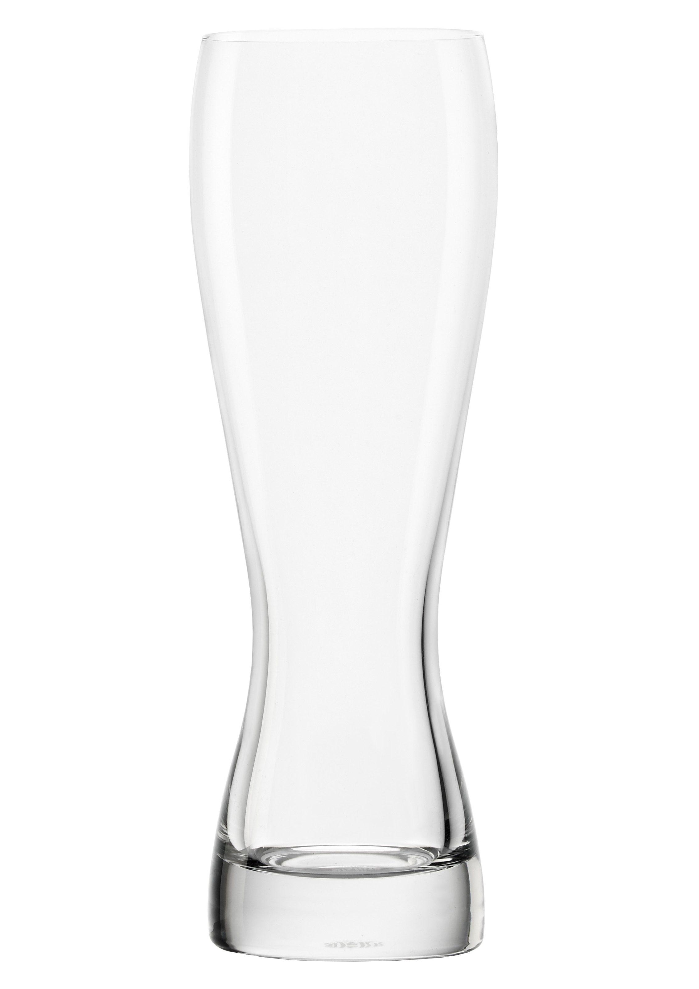 Stölzle Bierglas, (Set, 6 tlg.), 6-teilig farblos Bierglas Kristallgläser Gläser Glaswaren Haushaltswaren