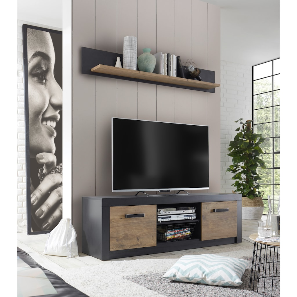 my home Wandregal »BRÜGGE«, Mit einer dekorativen Rahmenoptik