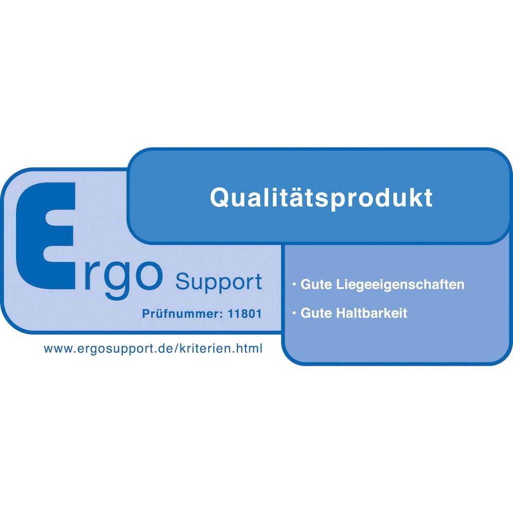 Schlaraffia Komfortschaummatratze »myNap«, (1 St.), von Ergo Support auf gute Liegeeigenschaften und Dauerhaltbarkeit getestet!*