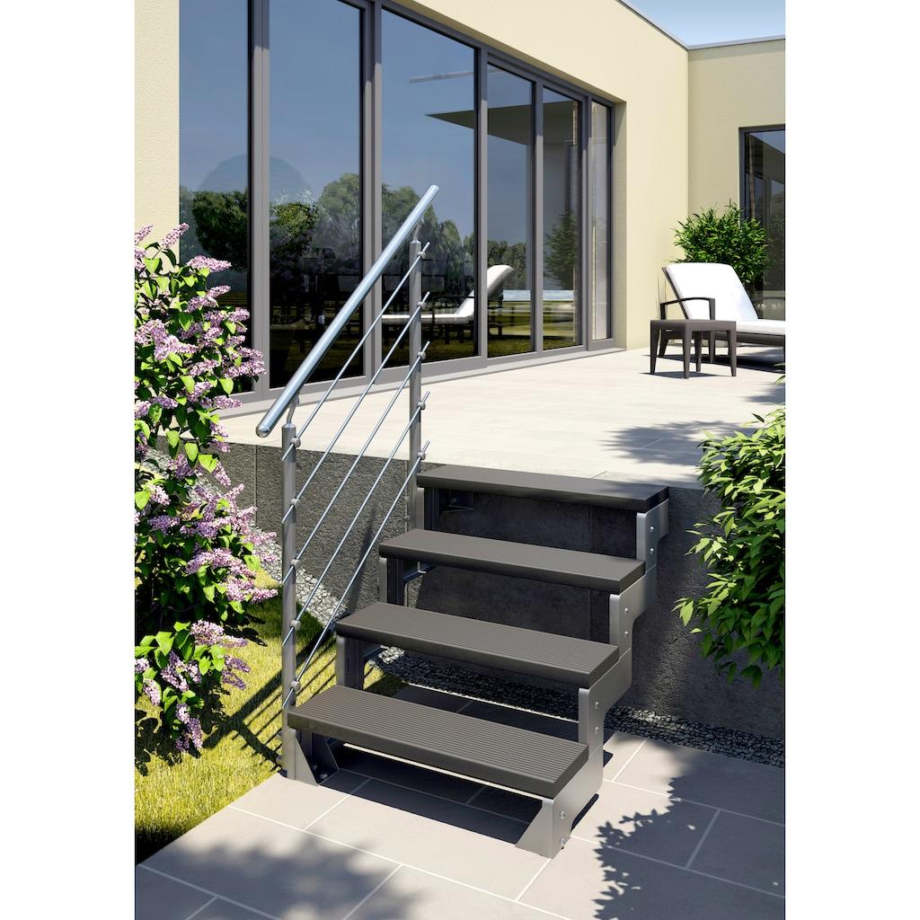 Dolle Treppengeländer »Gardentop Erweiterungsset 5«, für 4 Stufen