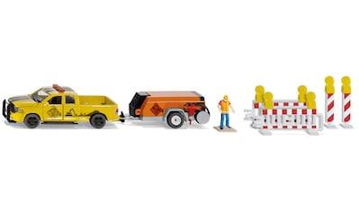 Siku Spielzeug-Auto »SIKU Super, RAM 1500 mit Kompressoranhänger« kaufen