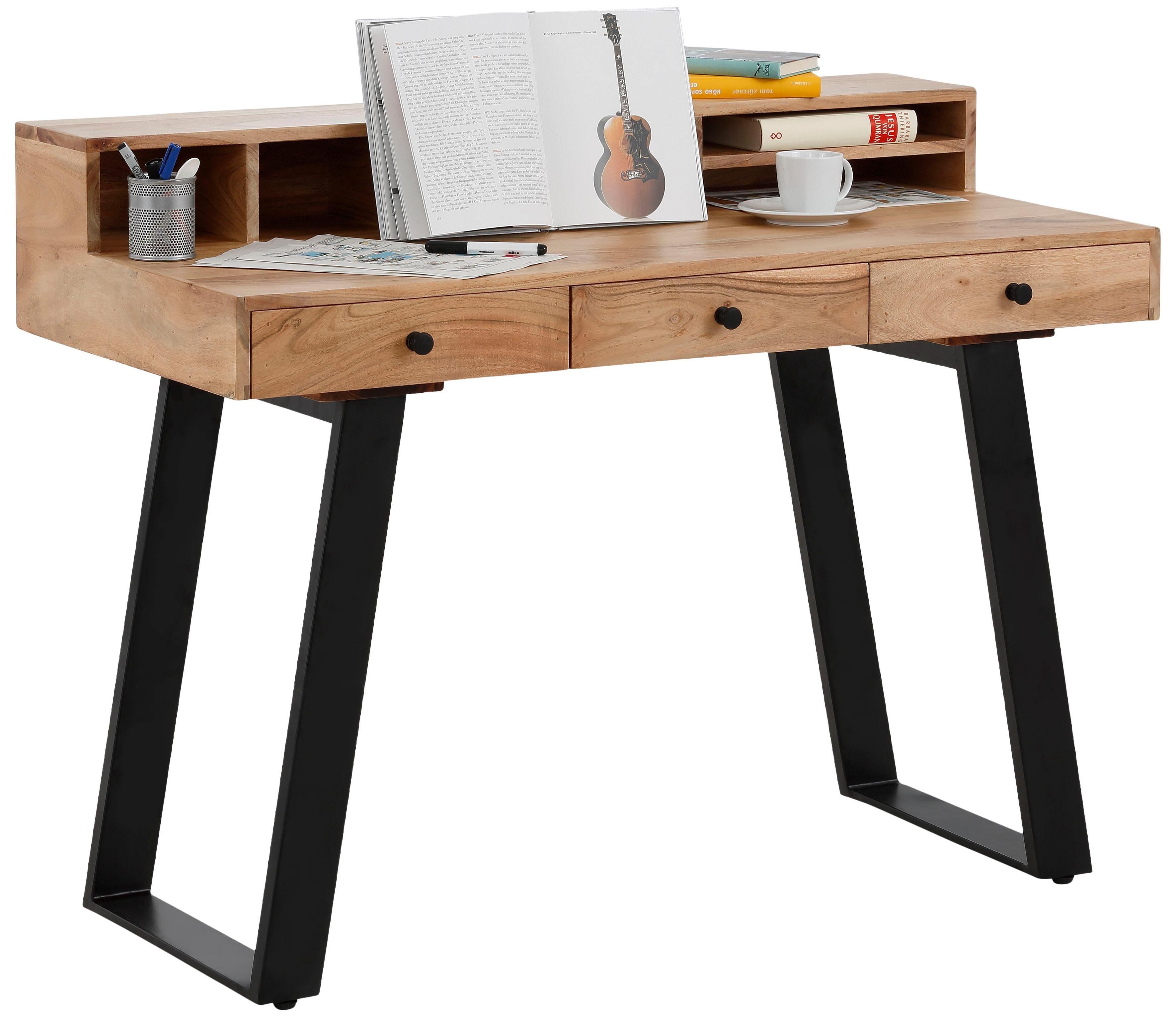 Quadrato Schreibtisch Cantu Wohnen/Möbel/Tische/Holztische/Holz-Schreibtische